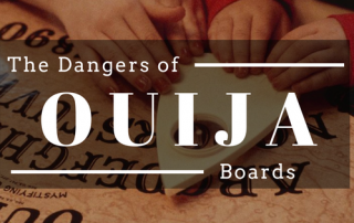 Using Ouija Board Dangers