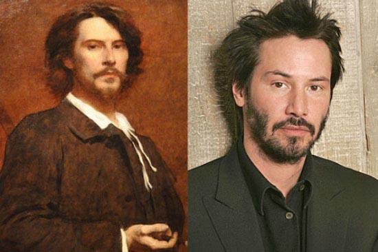 Keanu Reeves time traveller