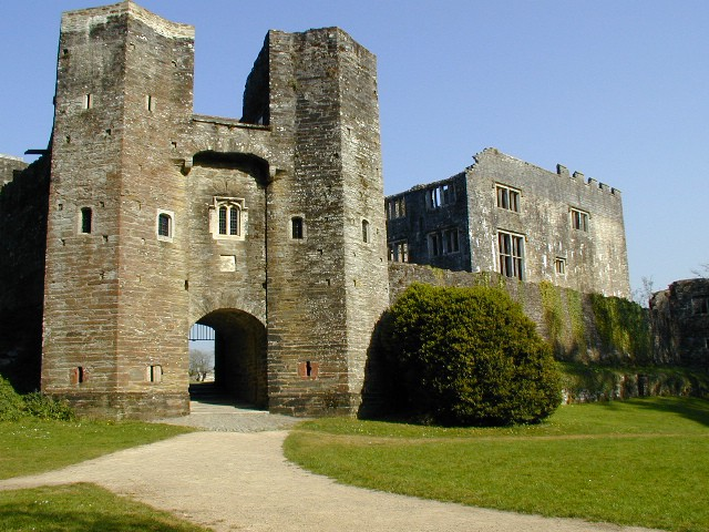 Berry Pomeroy Castle,