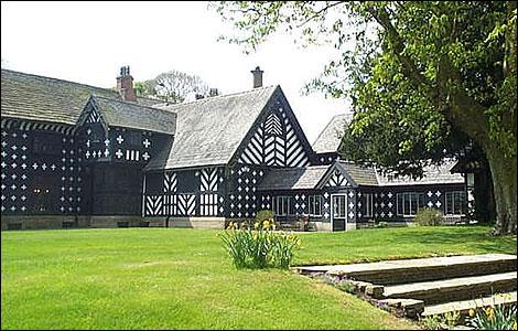 Salmesbury Hall, Lancashire